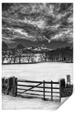 Gateway to Bamford Edge , Print