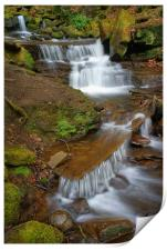 Lumsdale Cascading Falls, Print