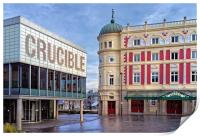 Crucible & Lyceum Theatres, Sheffield , Print