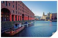 Albert Dock, Liverpool                            , Print