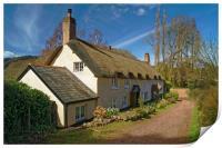 Dunster Cottage                       , Print