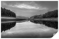 Howden Reservoir in Mono, Print