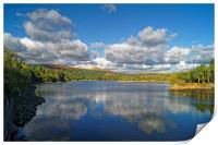 Burrator Reservoir                      , Print