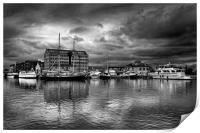 Gloucester Docks                               , Print