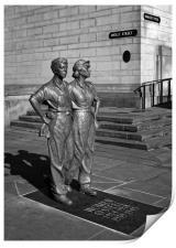 Women of Steel, Sheffield                        , Print