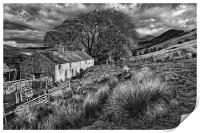 Old Farmhouse,Hope Valley                        , Print
