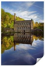 Portrait of Gibson Mill                           , Print