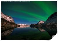 Aurora Reflections, Print