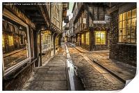 The Little Shambles York, Print