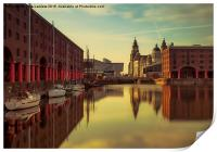 Albert Dock Reflections, Print