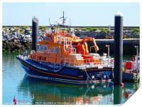 RNLI Torbay Lifeboat                          , Print