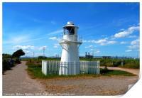 East Usk Lighthouse                         , Print