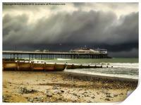 Cromer Pier Storm, Print