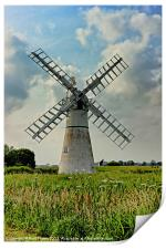Thurne Dyke Drainage Mill, Print