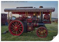 Showmans Engine, Print