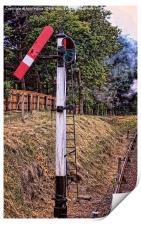 Railway Signal, Print