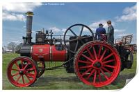 Chieftain traction engine, Print