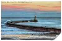 Roker Pier and Lighthouse, Print