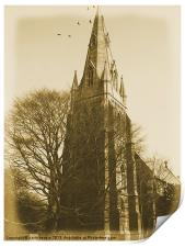 The Church by the River, Print