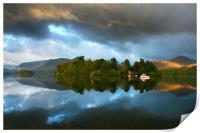 Storm Cloud Reflections, Print