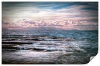 The Tide At Troon, Print