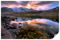 Wastwater Reflections, Print
