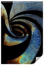 Spiral Abstract, Print