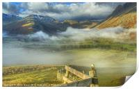 Langdale, Lake District, Print