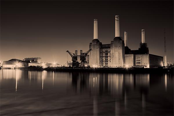 battersea Power Station Toned