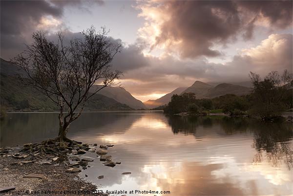 Sunrise over Llyn Padarn