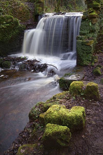 Rivelin Falls in Winter